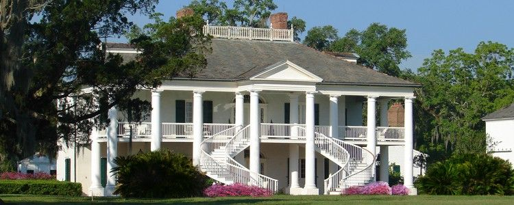 Evergreen Plantation In Edward About 30minutes From New Orleans. Has  22slave Cabins. Guided Tours