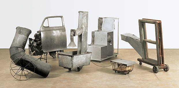 Rauschenberg And Tinguely Oracle 1962 65 Having A Party Fusion Gesammtwerk Robert Rauschenberg Art Art Numerique