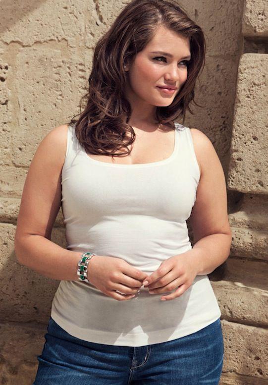 """curveappeal: """" Tara Lynn for H&M 38 inch bust, 34 inch ..."""