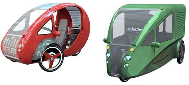 The ELF - Organic Transit's Commuting Solution. #EcoFriendly Vehicles