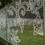 Demakersvan lace fence