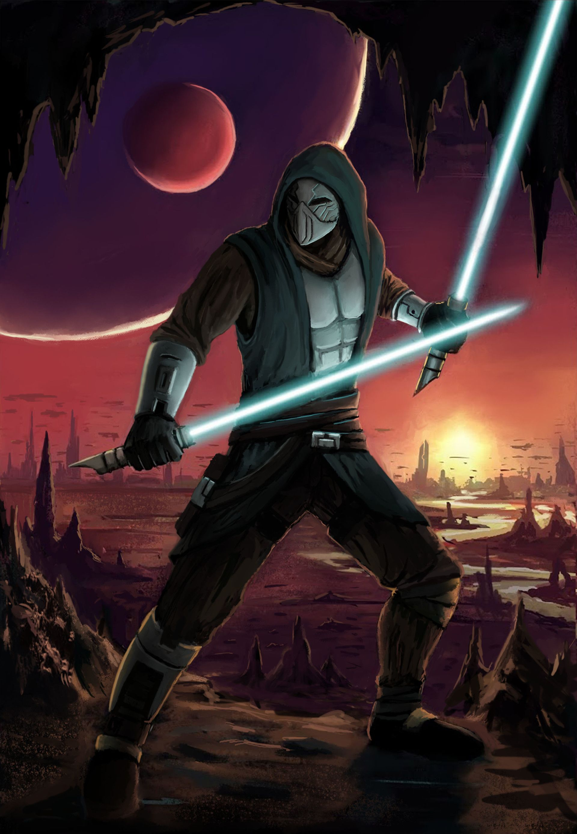 Artstation Jedi Knight Rod Raymundo Jedi Armor Star Wars