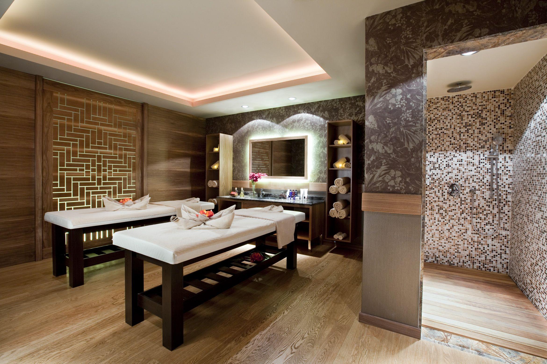 Salle De Massage Motif Au Murs Ligne Pure Clairage Pur Feng