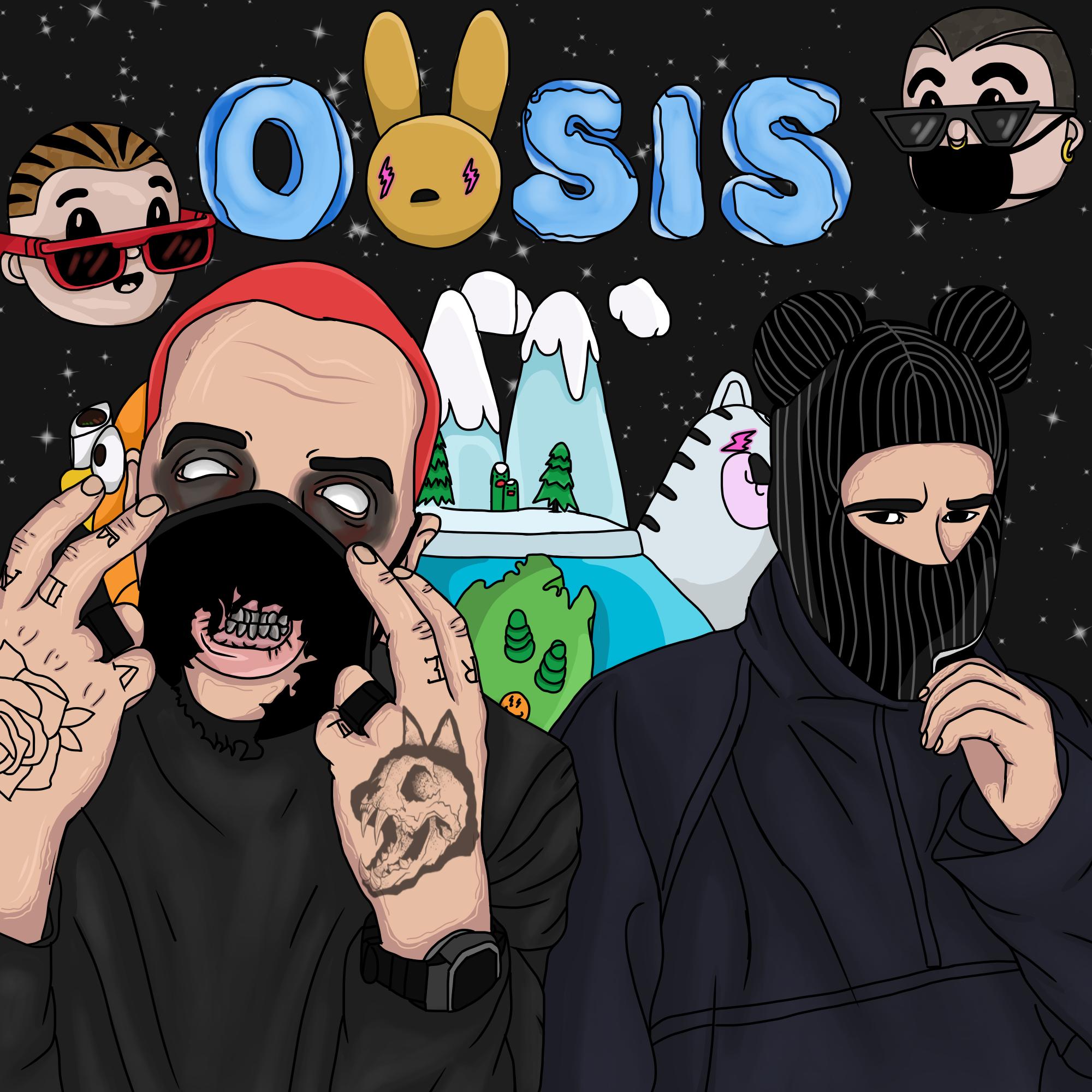 OASIS bad bunny x j balvin Bunny wallpaper, Iphone