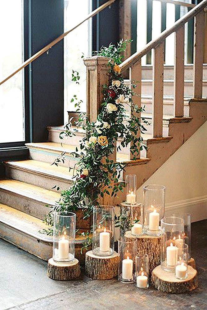 39 Beautiful Ways To Use Candles At Your Wedding #weddingideas