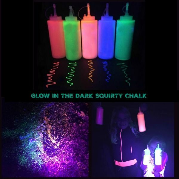 Glow in the Dark Squirty Chalk (Growing A Jeweled Rose