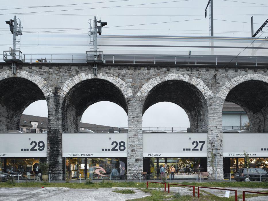 EM2N - Projects - Refurbishment Viaduct Arches, Zurich, Switzerland