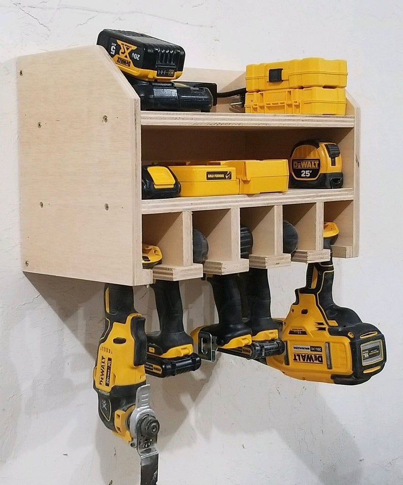Free shipping!! Power Tool Storage Rack