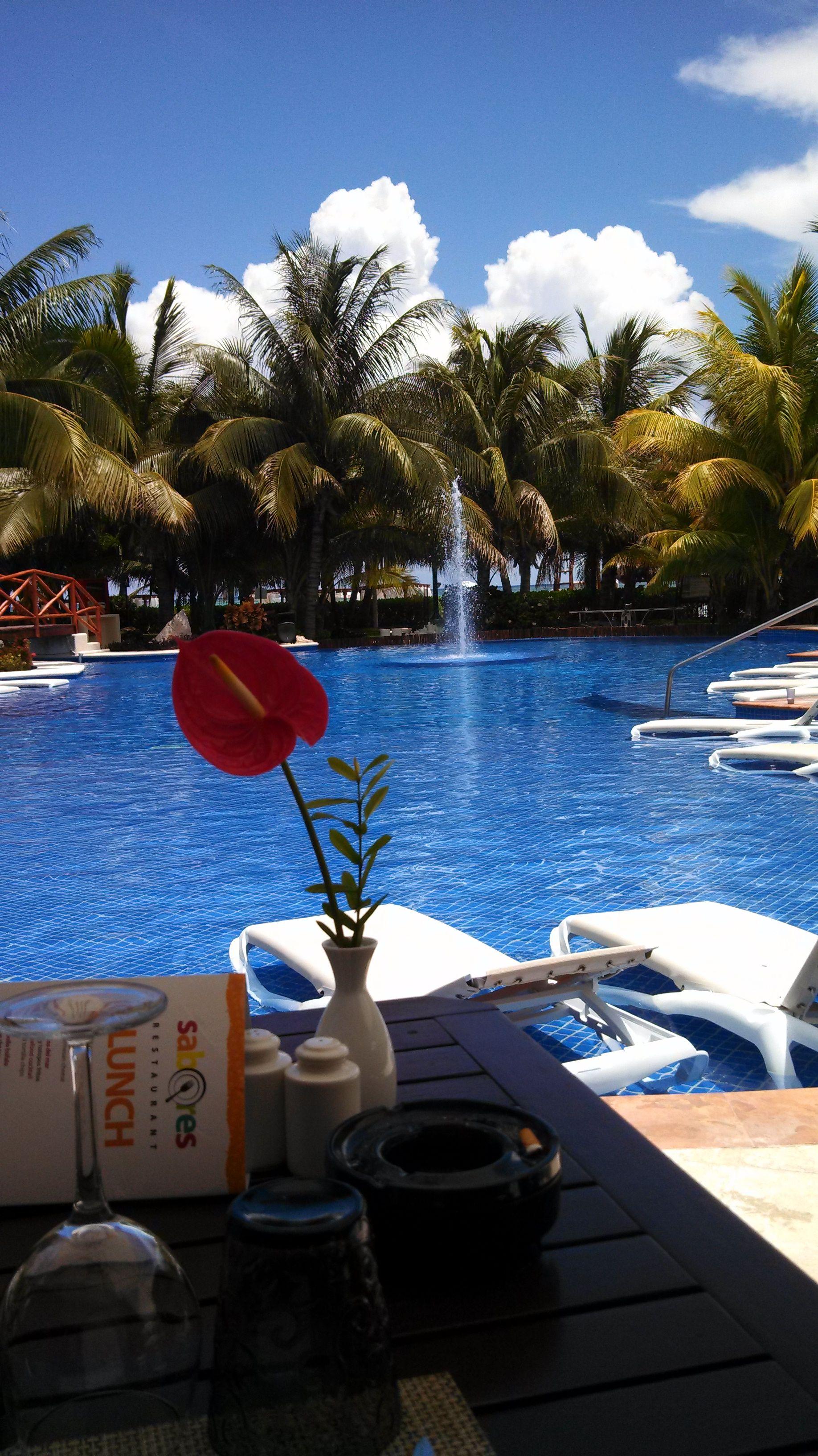 Lunch By The Pool El Dorado Maroma
