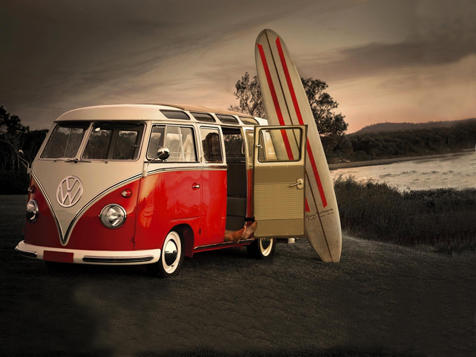 Volkswagen Bus Wallpaper HD #fmY