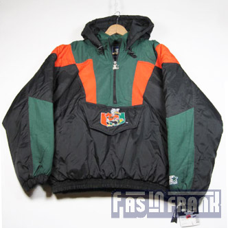 Awesome Miami Hurricanes Starter Jacket With The U S Mascot Jackets Clothes Menswear