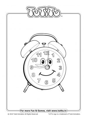 tutitu coloring pages for kids - photo#4