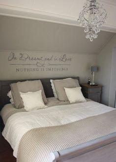 Slaapkamer | home | Pinterest | Cottage design, Bedrooms and Master ...