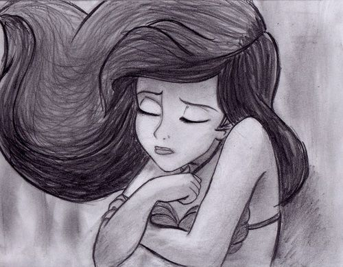 drawings of ariel from tumblr | drawing disney the little ...