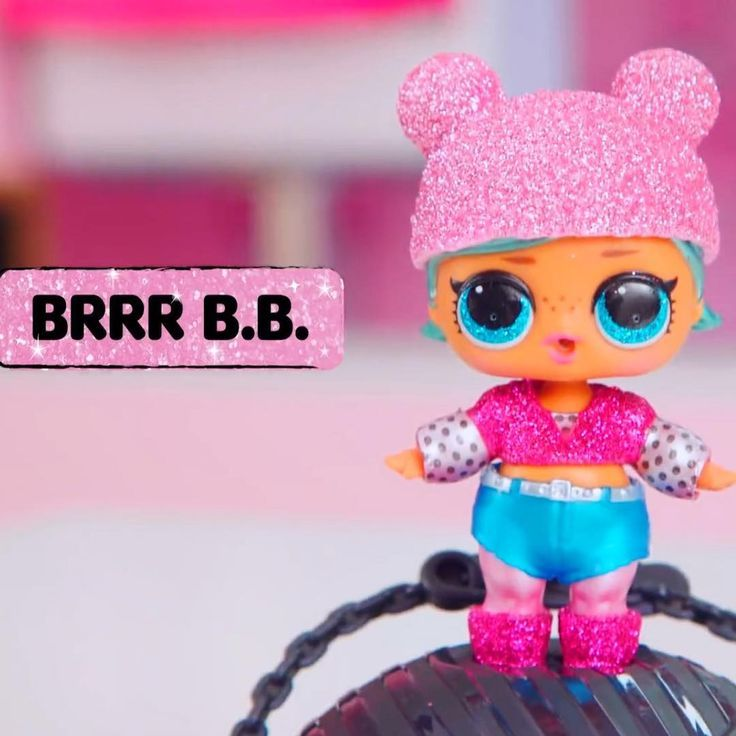 BRRR B.B All New L.O.L Surprise Glam Glitter Dolls