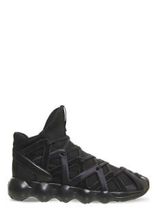 1891f7010089d ADIDAS Y3 Kyujo high-top neoprene trainers