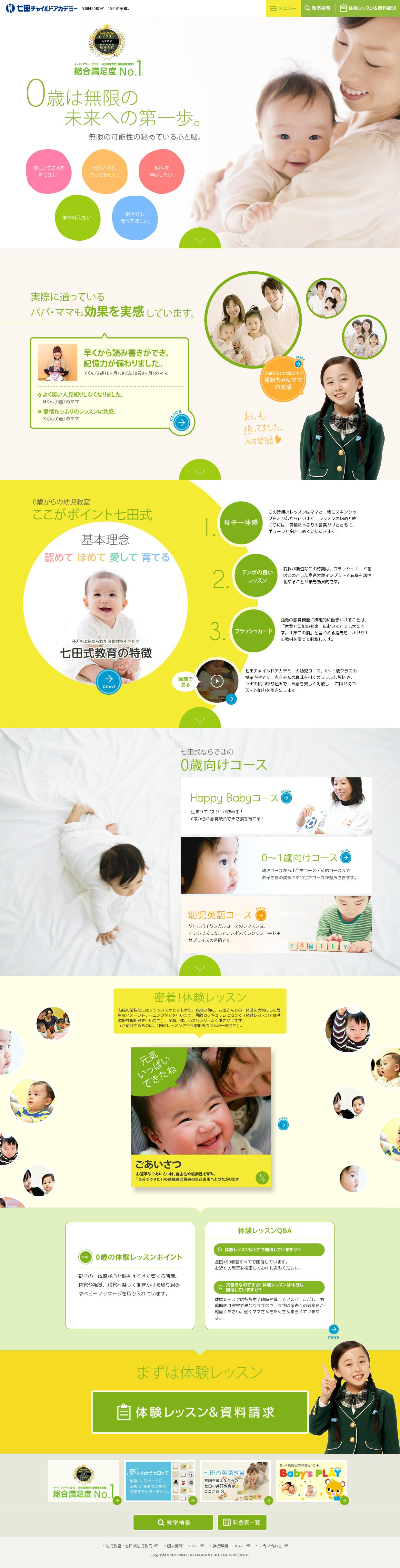 the website http baby shichida ne jp age 0 courtesy of