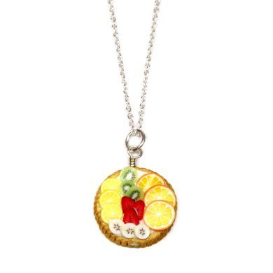 Fruit Tart Necklace  by Petit Plat