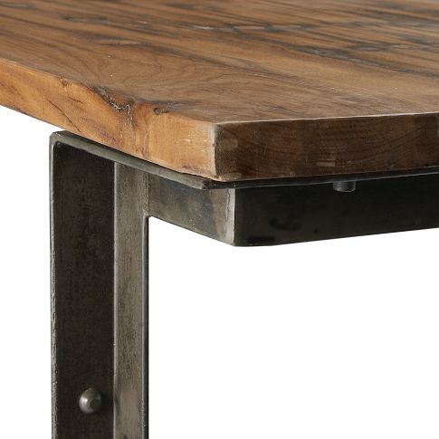 Industrial Dining Table By West Elm Industrial Dining Table West Elm Dining Table Homemade Kitchen Tables