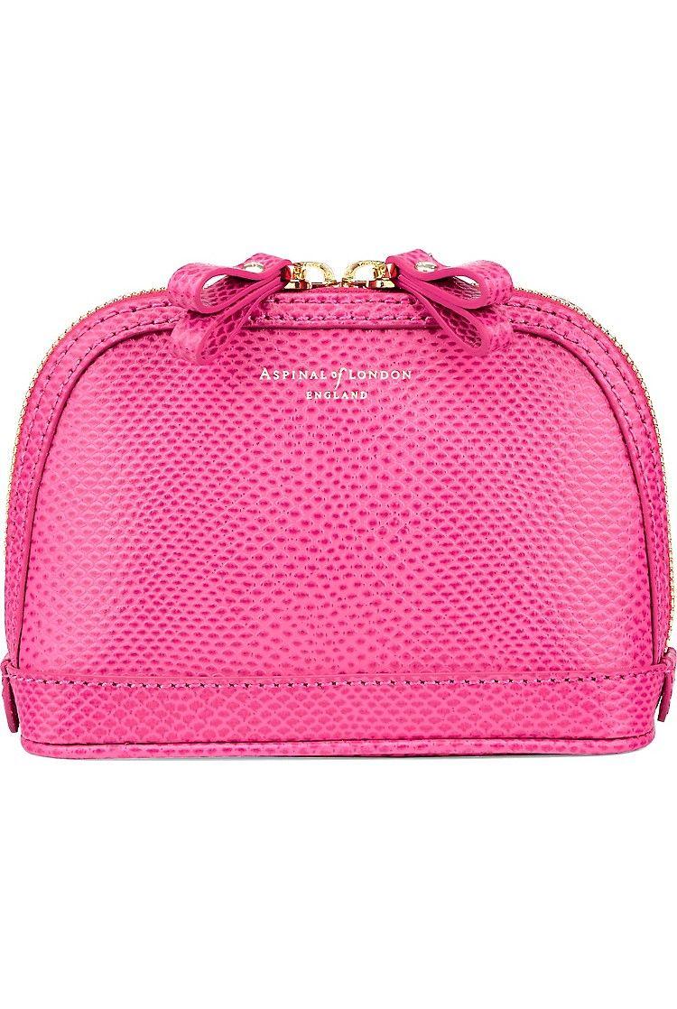 170958cbb4 ASPINAL OF LONDON - Hepburn small leather cosmetics case ...