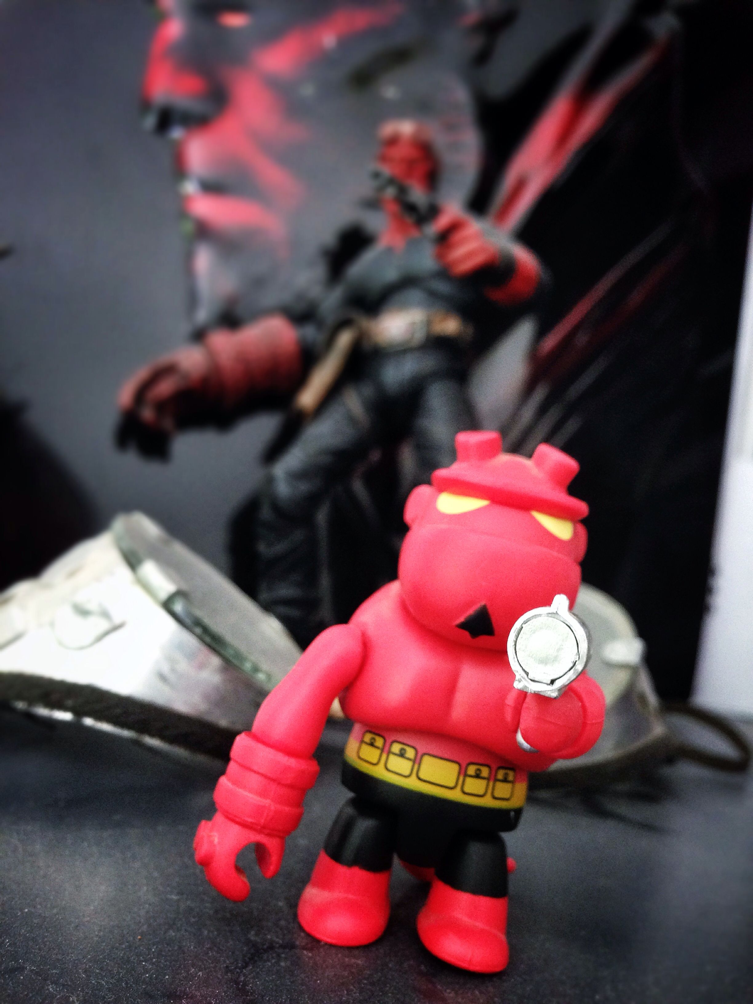 Mini #Hellboy chez l'ami @Pierre Laloge