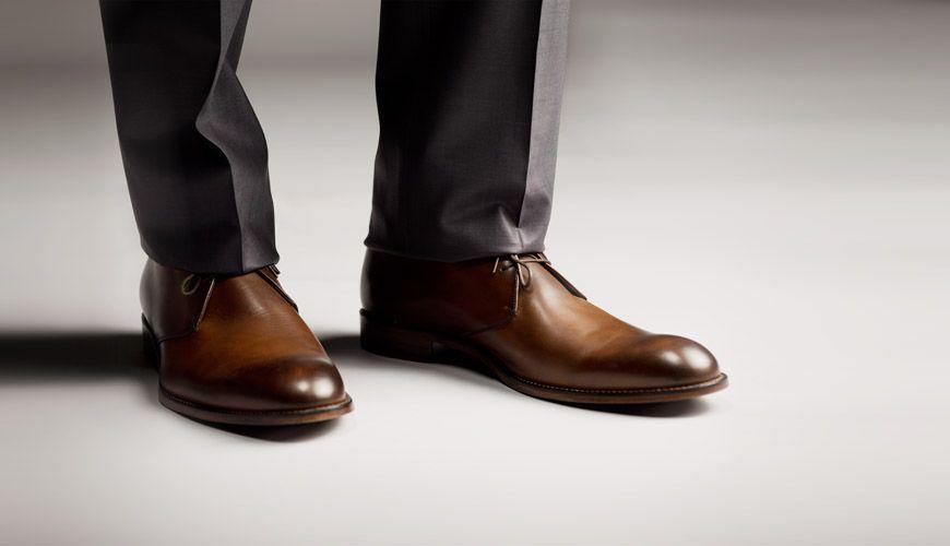 Modern brown men's wedding shoes from Nordstrom, alternative ...