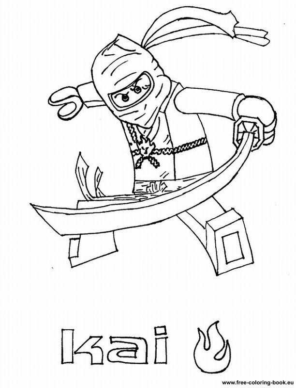 Coloring pages Lego Ninjago - Printable Coloring Pages Online ...