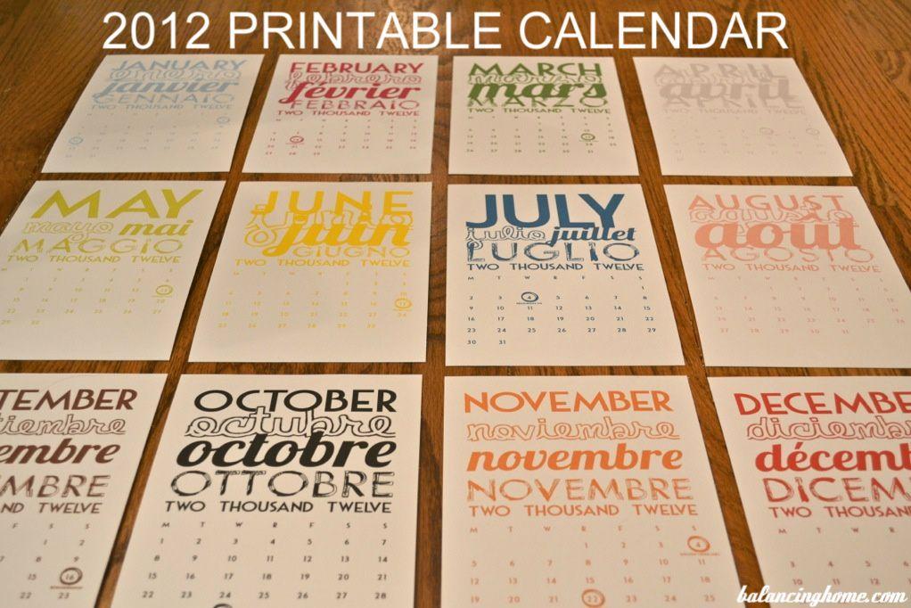 Top 15 of 2015 Printable calendars, Free printable calendar and - printable calendars
