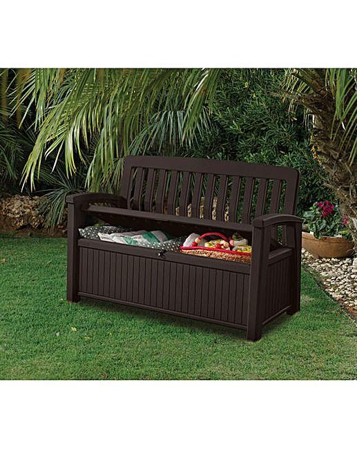 Keter Patio Bench Box J D Williams Garden Patio