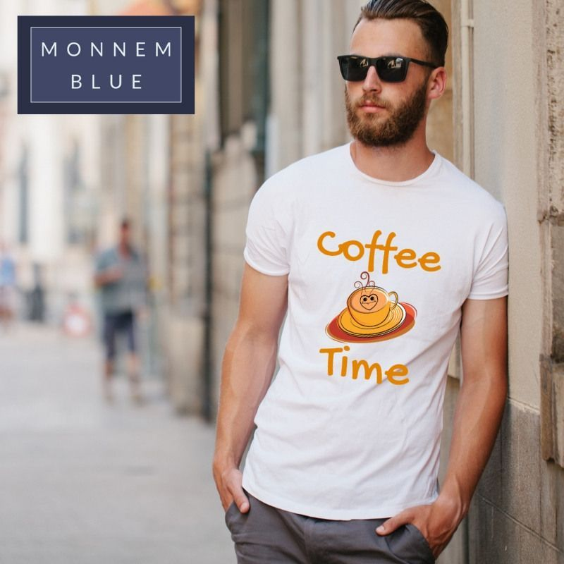 Coffee Fur Kaffeetrinker Kurzarmunisextshirt Time Coffee Time
