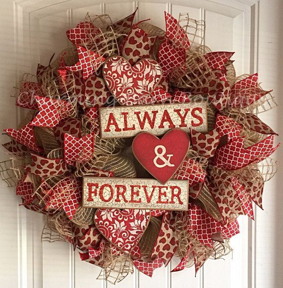 Valetine's Day, Valentine's Day Wreath, Valentines Decor