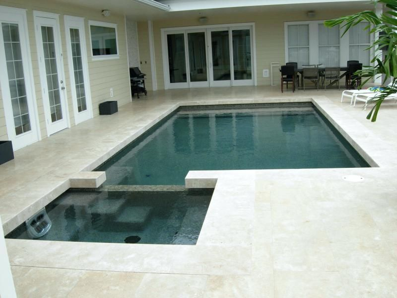 Modern Pool Coping Contemporary Classic Spa With