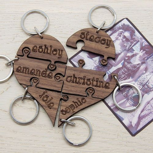 Wedding Gift For Friend Female: Best Friend Gifts, Girl Squad, Bridesmaids Gift, Keyring