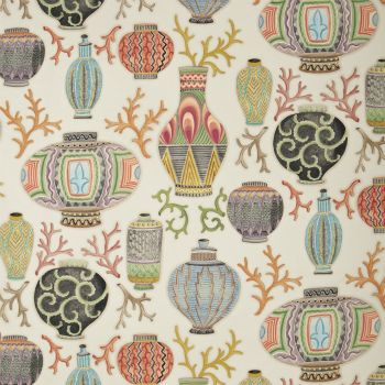 Vallauris By Clarence House Would Make Great Pillows In The Library Printing On Fabric Fabric Wallpaper Textures Patterns Clarence house wallpaper samples