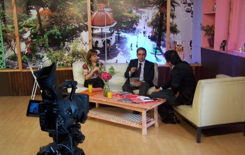 Andrea Juan en el matinal de Antofagasta TV