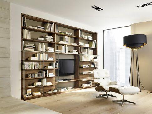 Wohnwand Modern Die Schrankwand Furs Wohnzimmer Wohnwand Modern Wohnen Und Schoner Wohnen Fliesen