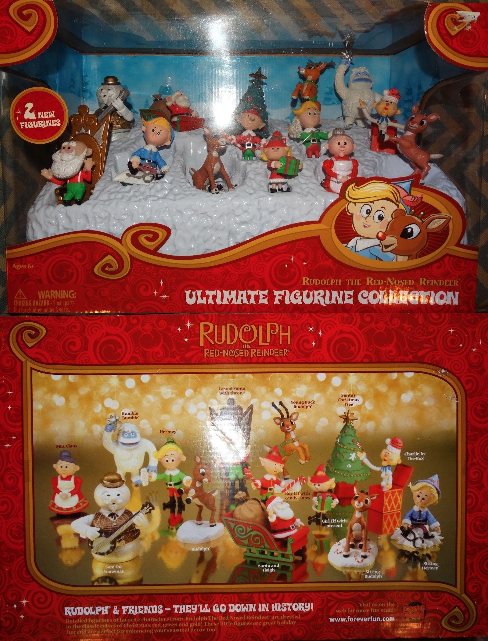 Rudolph 95252: New Rudolph Ultimate Figurine Set Misfit Toys Pvc ...
