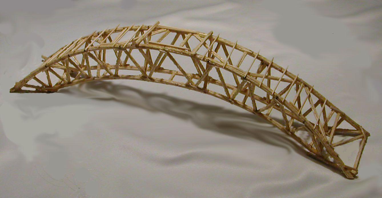 matchstick bridge - Google-haku
