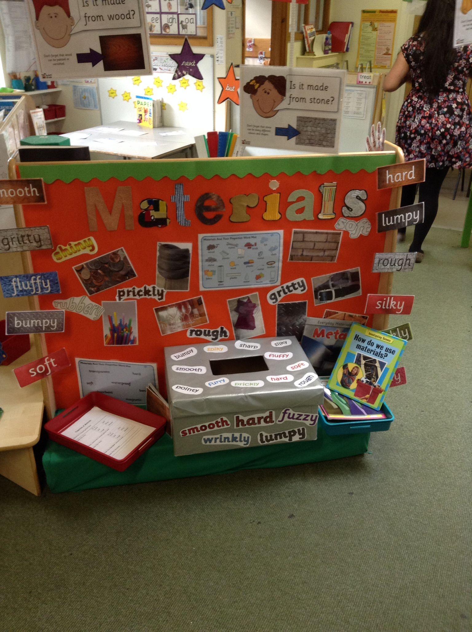 Interactive Materials Display