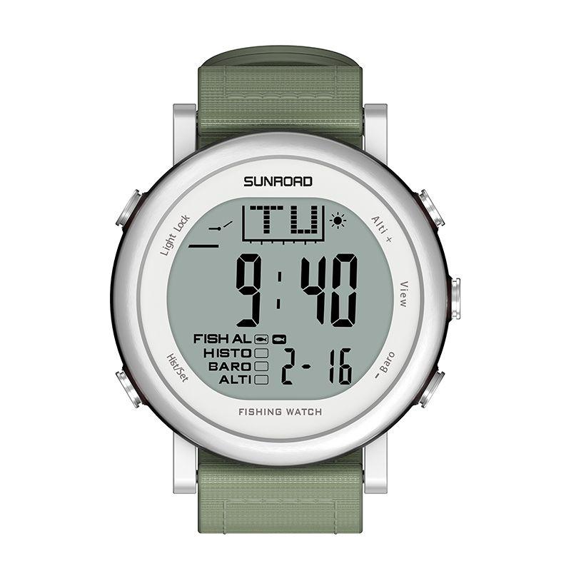 SUNROAD Fishing Barometer Watch FR721 Digital 5ATM