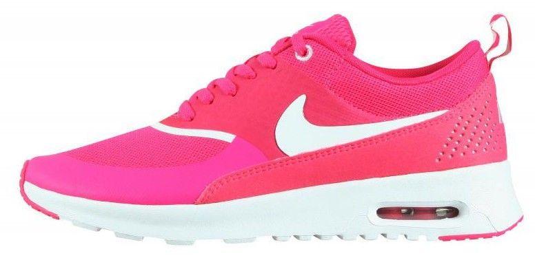 new arrival 8dc81 40f07 Nike Air Max Thea Pour Femme Baskets Basses Rose Blanc Vente en ligne