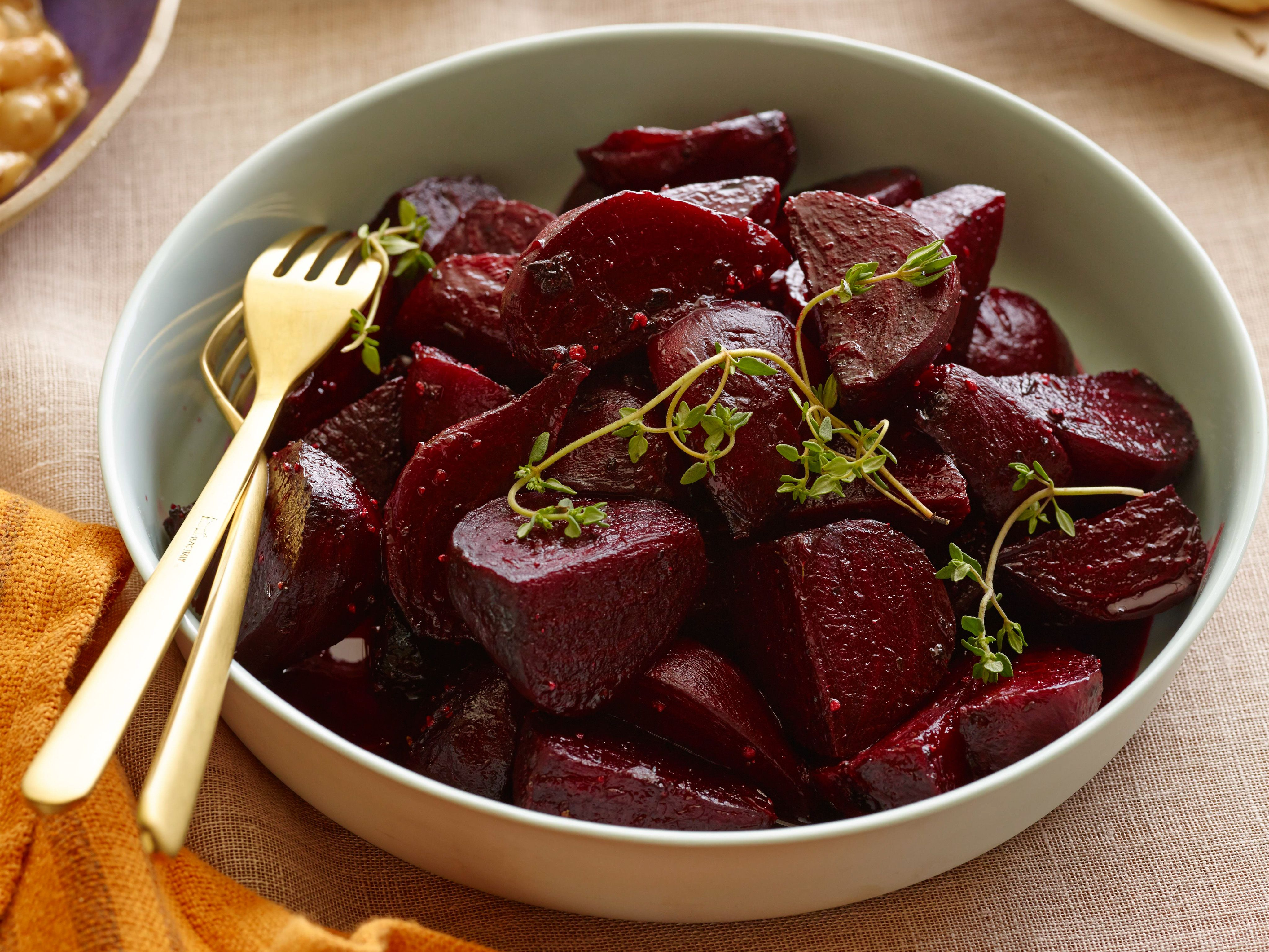 roasted beets recipe ina garten food network for a beautiful jewel toned - Ina Garten Baked Bacon