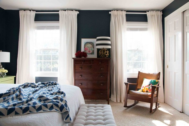 The Best Home Decor Paint Colors: Hale Navy | The Turquoise Home #halenavybenjaminmoore