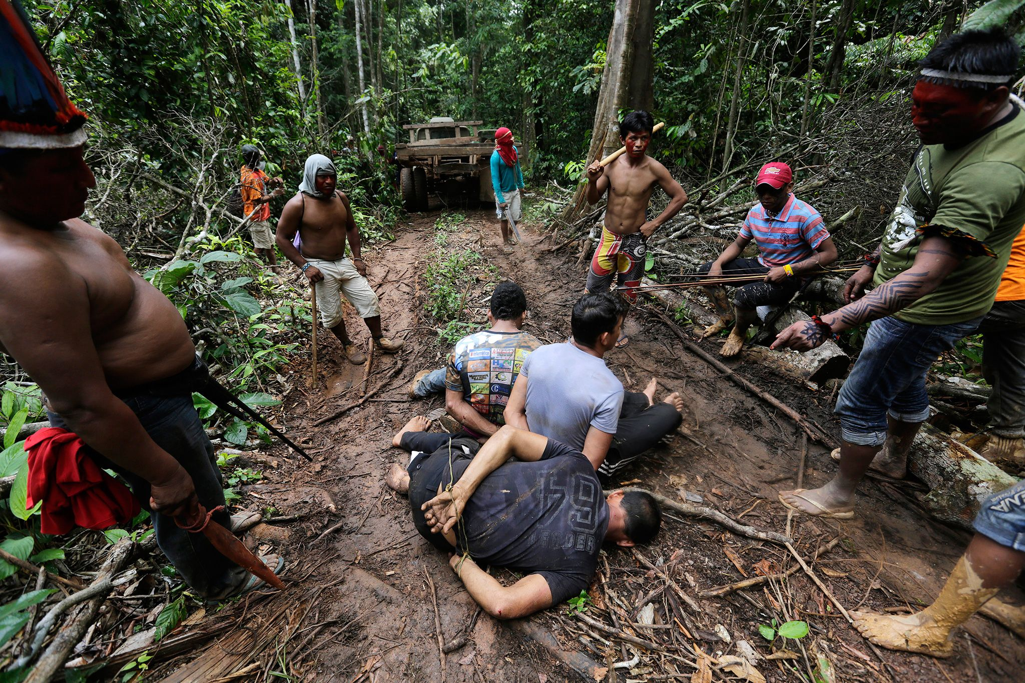 Illegal Loggers Wage War On Indigenous People In Brazil Amazon