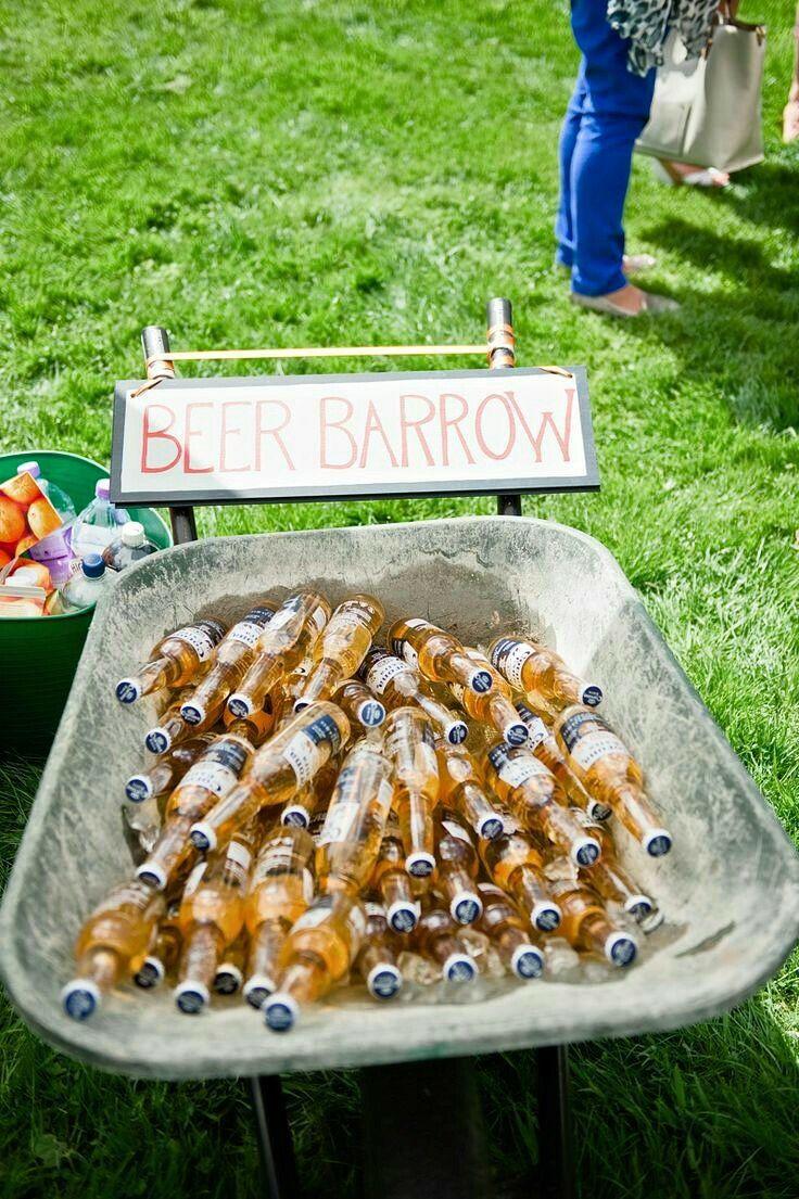 beer garden dream wedding pinterest deco mariage