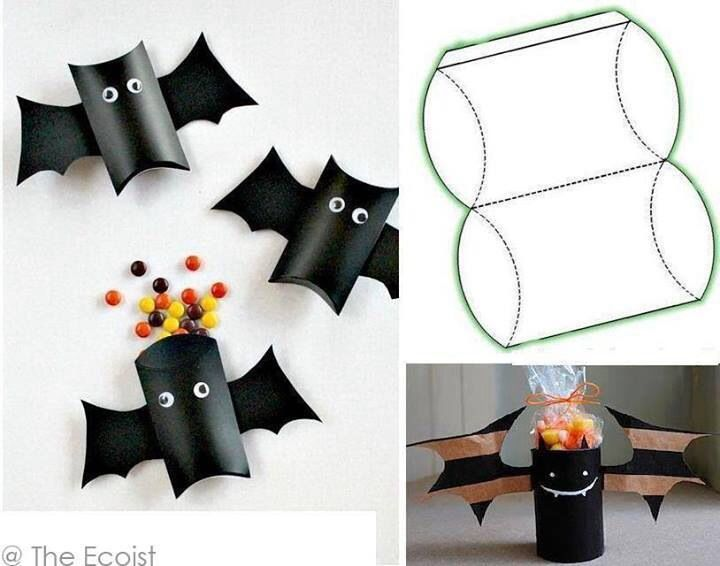 Vampiritos Con Tubos De Papel School Halloween Party Halloween School Halloween Crafts