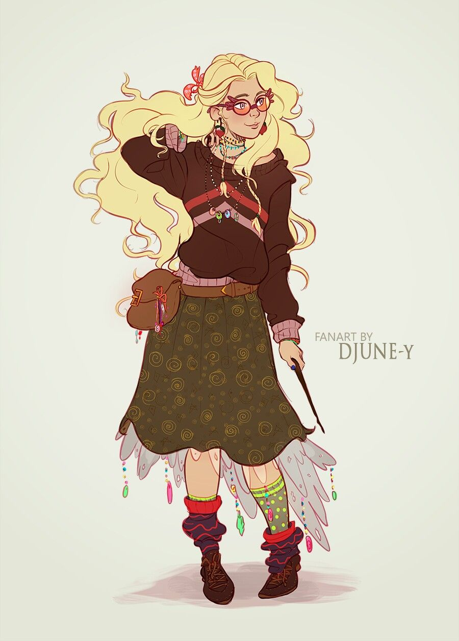 Pin De Megan En Harry Potter Luna Lovegood Ilustraciones Luna