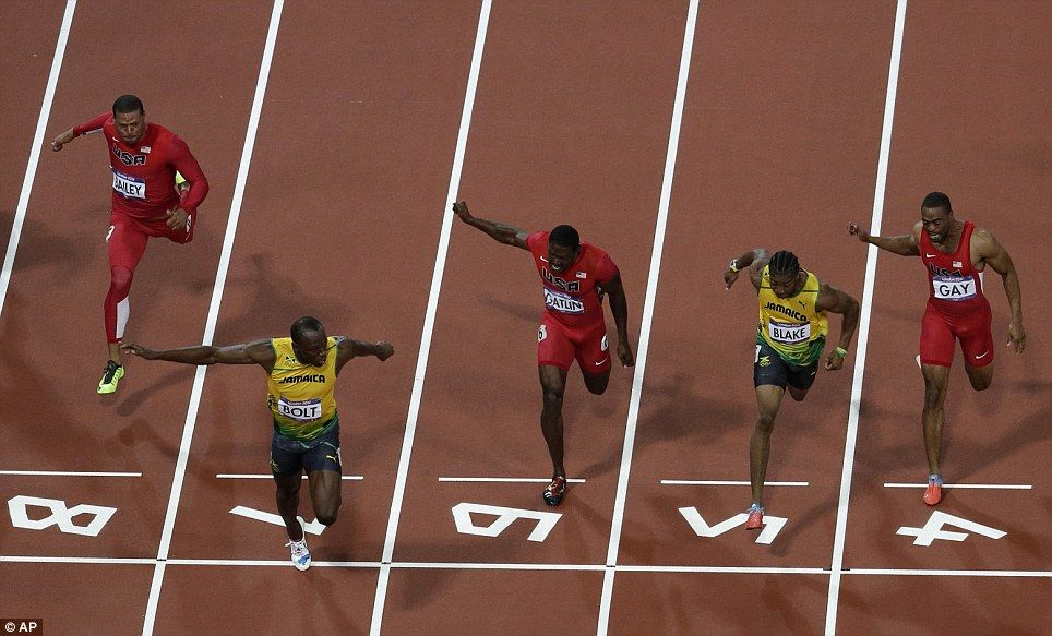 Two BILLION people watch Usain Bolt's win... but none of ...
