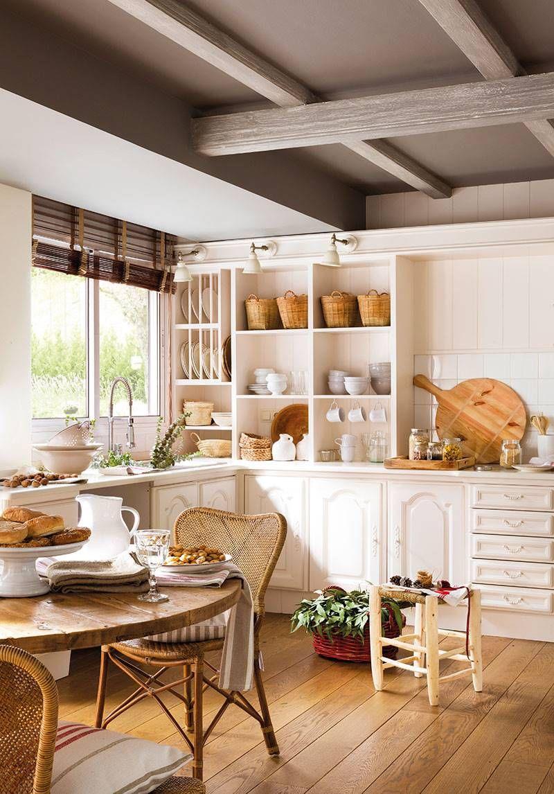 Plan de orden exprés | cocinas | Cocinas blancas, Decoración de unas ...