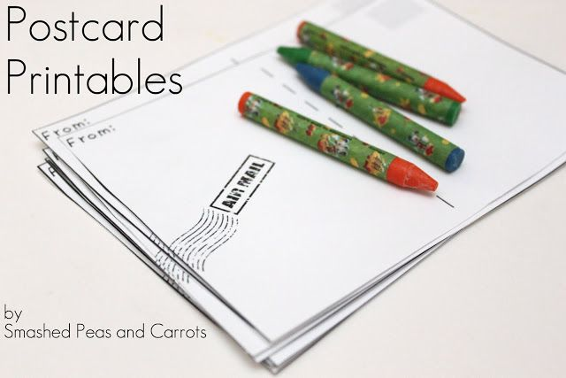 print your own postcards free